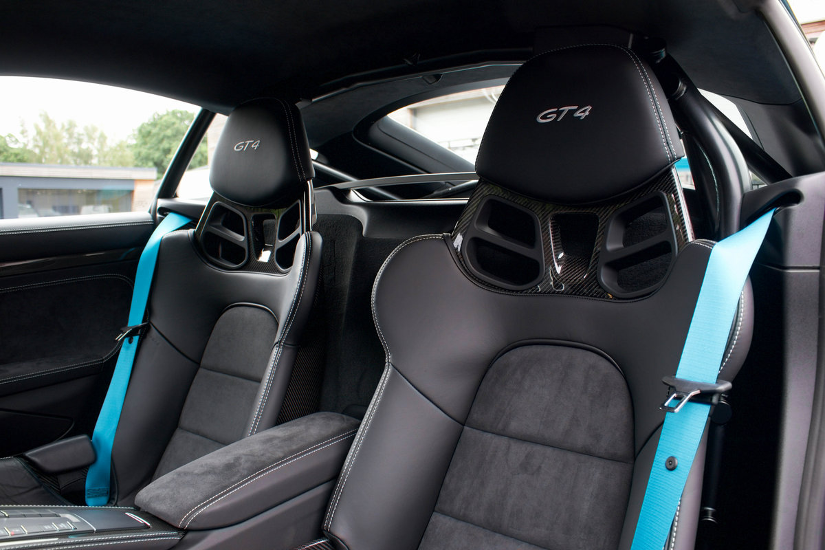 2020/20 Porsche 718 Cayman GT4 Clubsport Package For Sale (picture 6 of 6)