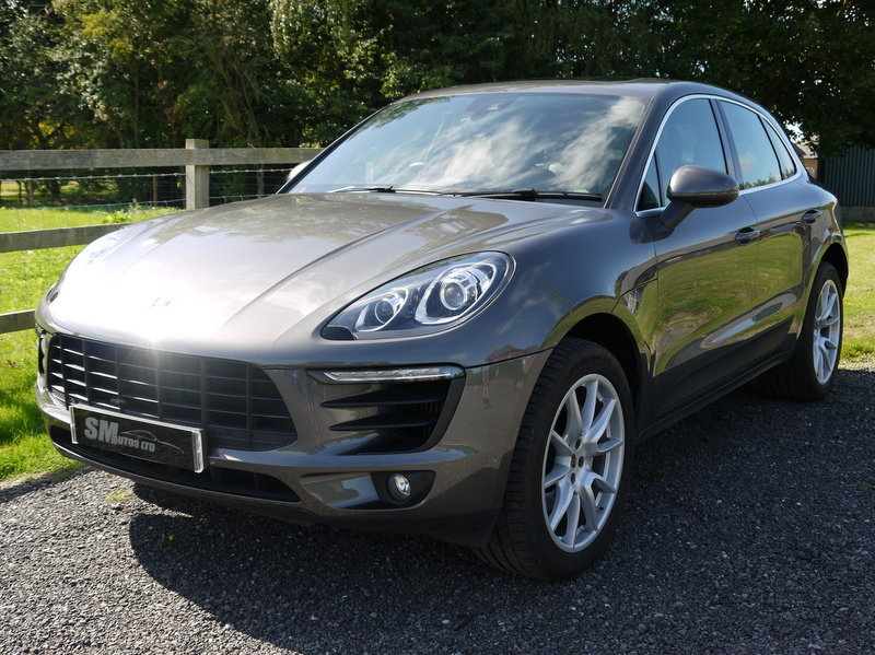 2015 PORSCHE MACAN 3.0 V6 S PDK AUTO HUGE SPEC, FPSH For Sale (picture 1 of 6)