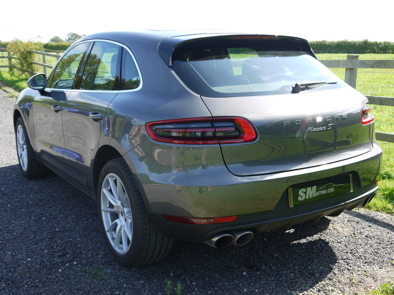 2015 PORSCHE MACAN 3.0 V6 S PDK AUTO HUGE SPEC, FPSH For Sale (picture 3 of 6)