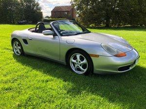 1999 Porsche Boxster 2.5 986 artic silv New MOT Service  For Sale