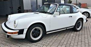 1980 LHD Porsche 911 sc Targa3.0 Left Hand Drive White For Sale