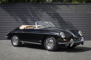 1962 PORSCHE 356 B T6 1600 S ROADSTER, LHD, TWIN GRILL MODEL