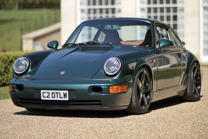 Porsche 964 C4 Green over Tan 290hp