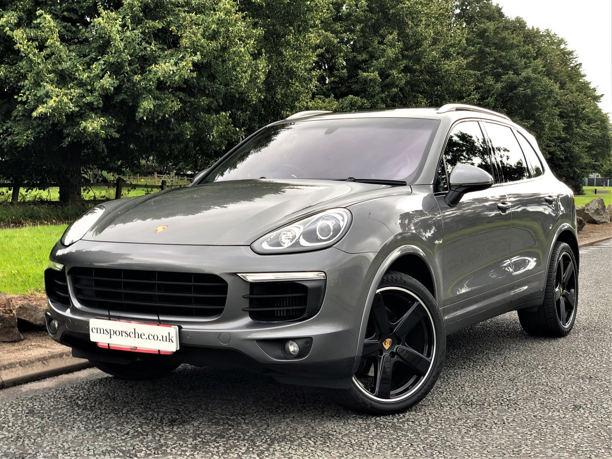 2016 Porsche (958) Cayenne 3.0D SOLD (picture 1 of 6)