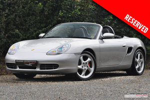2000 RESERVED - Porsche 986 Boxster S manaul For Sale