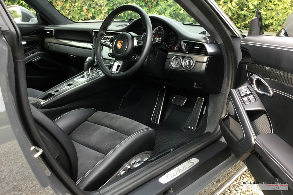 2017 (2018 MY) Porsche 991.2 (911) Turbo S PDK coupe SOLD (picture 5 of 6)