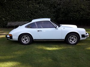1975 Porsche 911 2.7 Coupe To be sold on Wednesday 29th September
