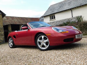 2001 Porsche 986 Boxster 2.7 - 31k, 1 owner, immaculate