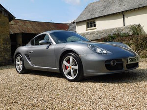 Porsche 987 Cayman S - 44k, high spec, perfect history