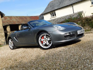 Porsche 987 Boxster 3.4 S - 88k, great history, good order