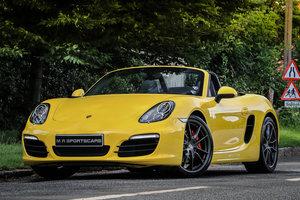 Porsche 981 Boxster S Manual Racing Yellow CHRONO PSE PASM