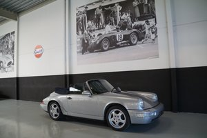 PORSCHE 964 Carrera 2 Cabriolet Manual !restored (1992)