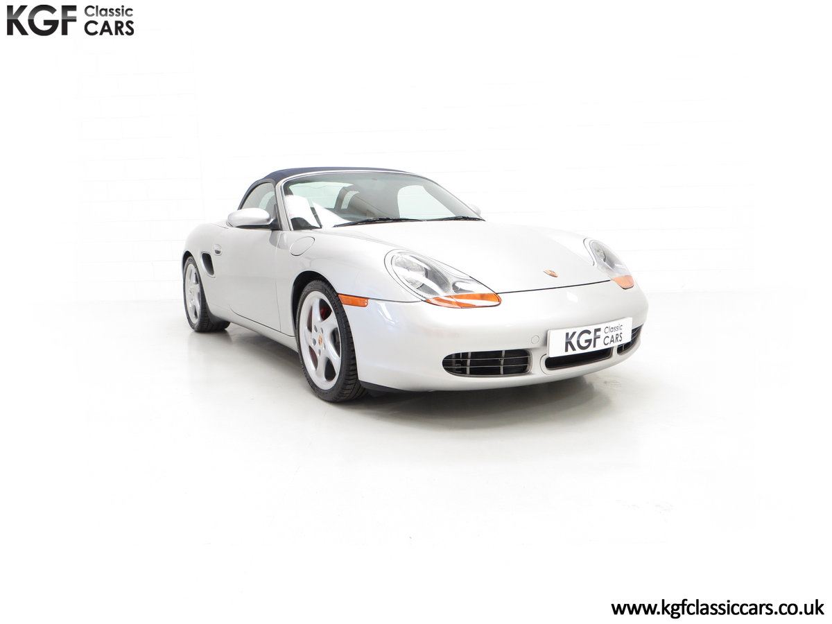 2002 A Tremendous Porsche Boxster S 3.2 Manual with 18,846 Miles For Sale (picture 1 of 24)