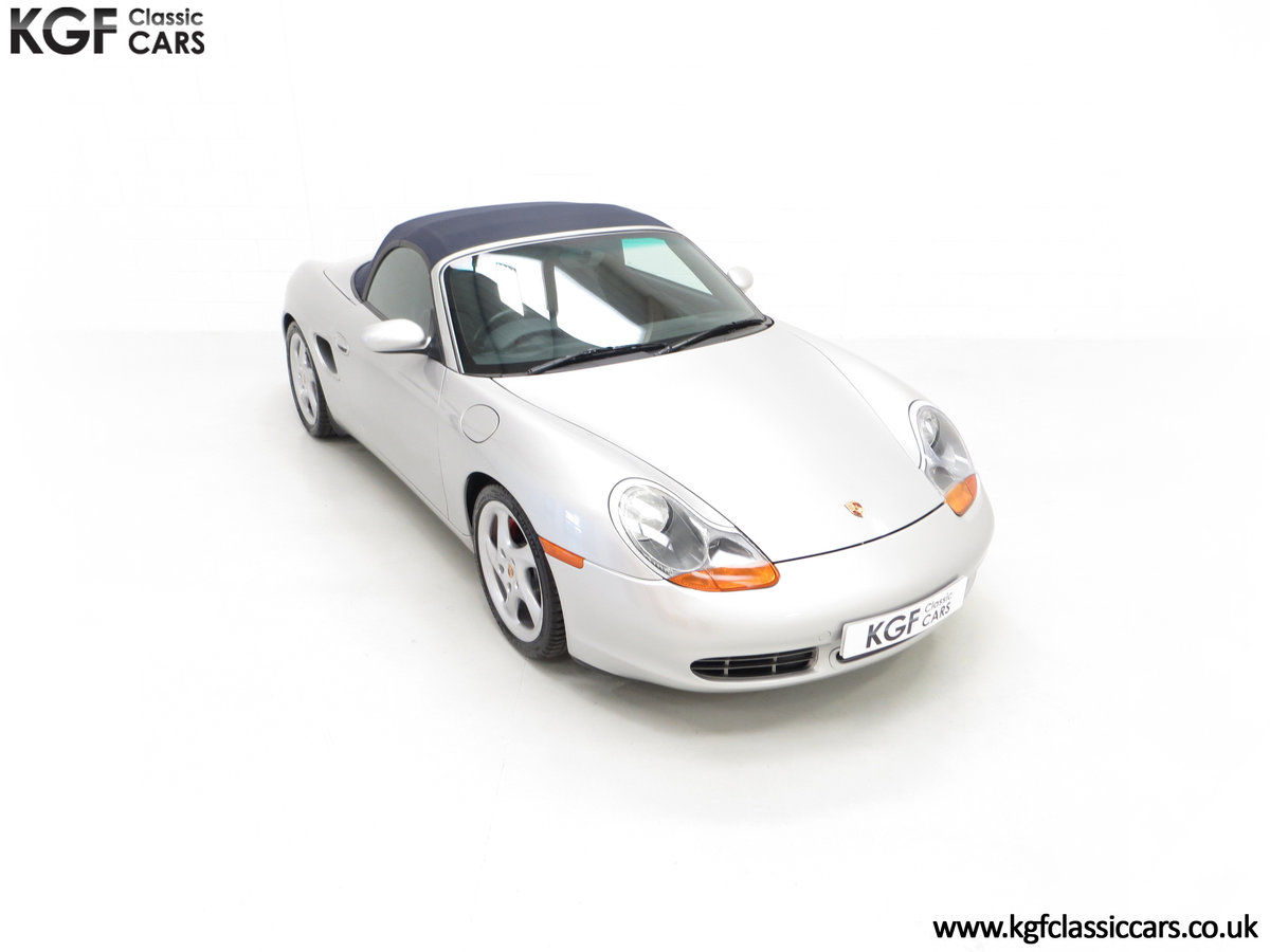 2002 A Tremendous Porsche Boxster S 3.2 Manual with 18,846 Miles For Sale (picture 2 of 24)