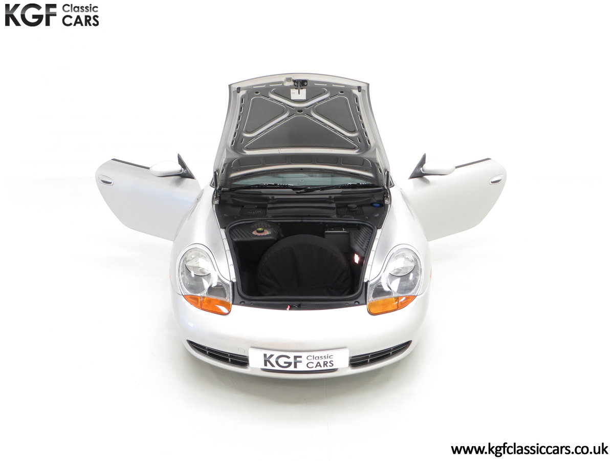 2002 A Tremendous Porsche Boxster S 3.2 Manual with 18,846 Miles For Sale (picture 4 of 24)