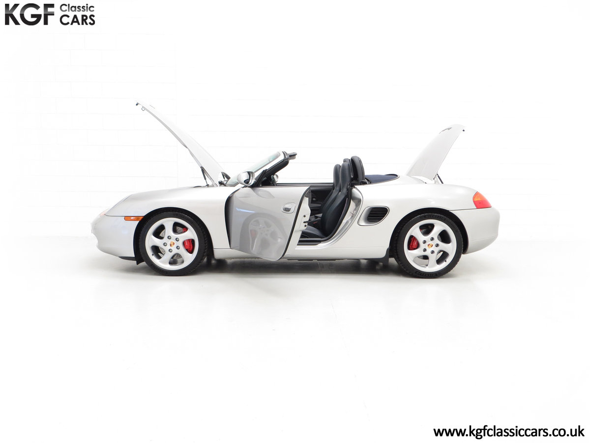 2002 A Tremendous Porsche Boxster S 3.2 Manual with 18,846 Miles For Sale (picture 7 of 24)