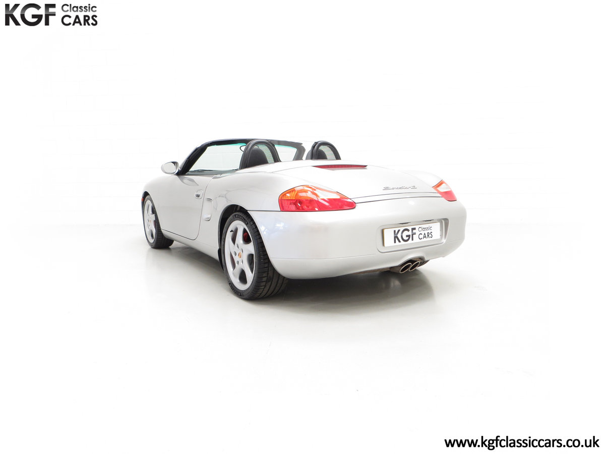 2002 A Tremendous Porsche Boxster S 3.2 Manual with 18,846 Miles SOLD (picture 8 of 24)