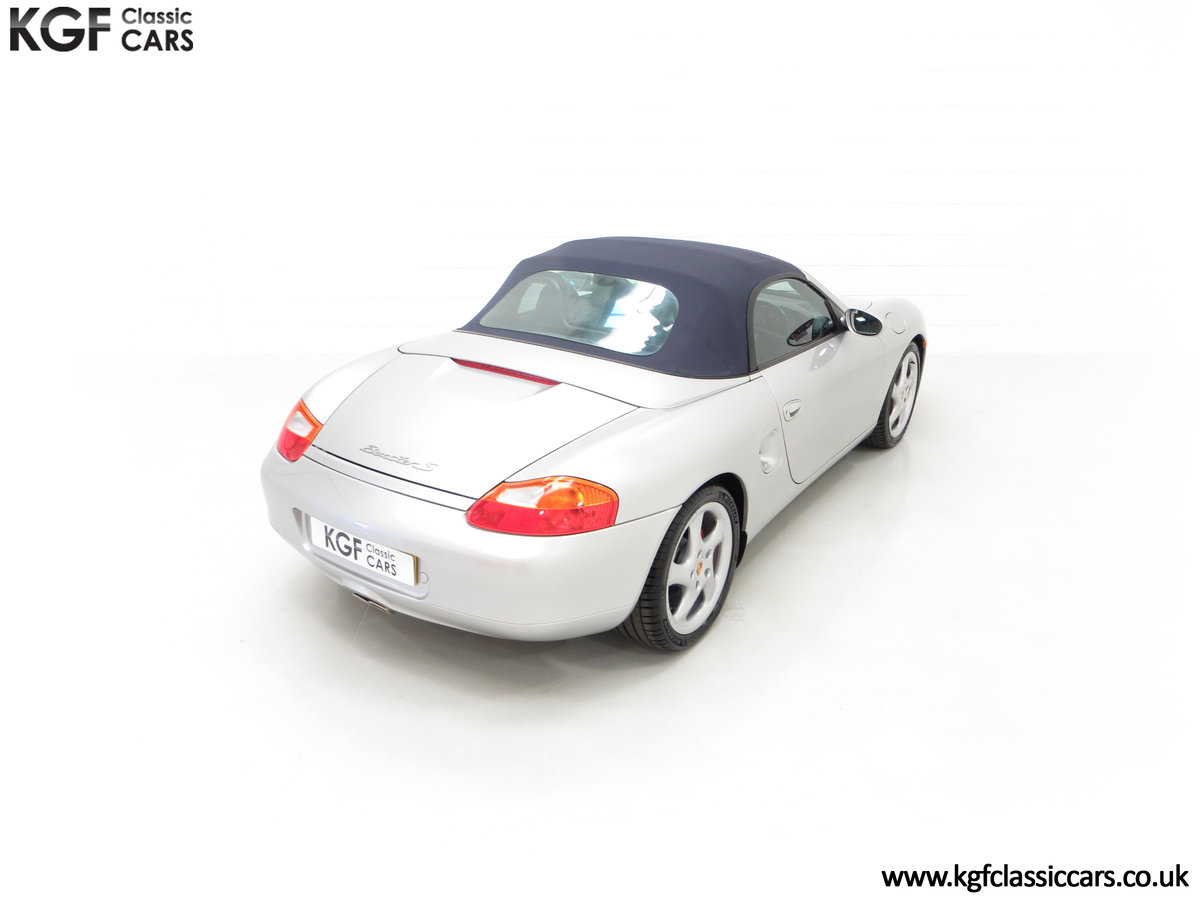 2002 A Tremendous Porsche Boxster S 3.2 Manual with 18,846 Miles For Sale (picture 12 of 24)