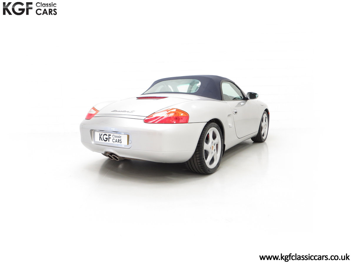 2002 A Tremendous Porsche Boxster S 3.2 Manual with 18,846 Miles For Sale (picture 13 of 24)