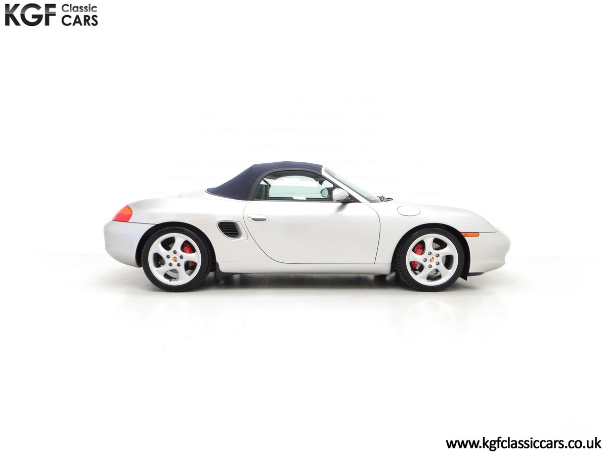 2002 A Tremendous Porsche Boxster S 3.2 Manual with 18,846 Miles For Sale (picture 14 of 24)