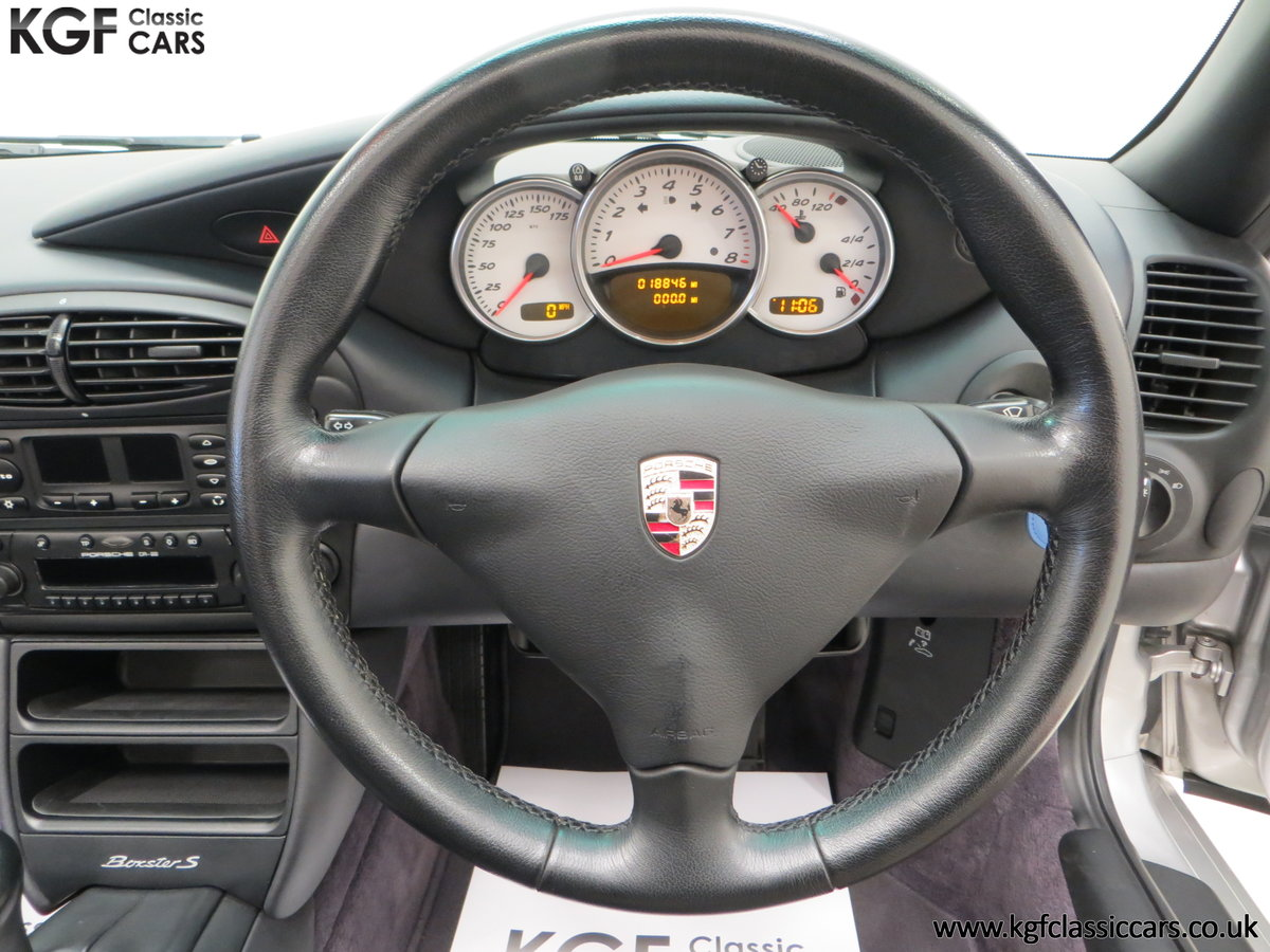 2002 A Tremendous Porsche Boxster S 3.2 Manual with 18,846 Miles For Sale (picture 22 of 24)