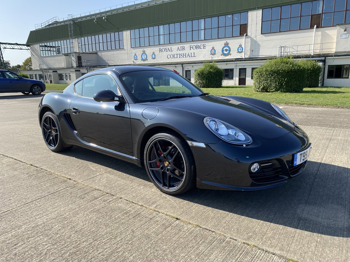 2009 Porsche Cayman S 3.4 with PDK box For Sale (picture 1 of 6)