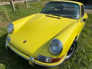 porsche 911 t sunroof coupe LHD 1969 matching numbers