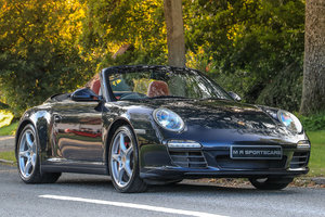 Porsche 911 Carrera 4S Convertible 997 Gen 2 Atlas Grey