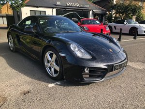 2014 PORSCHE CAYMAN (981) PDK SAT-NAV SPORTS EXHAUST