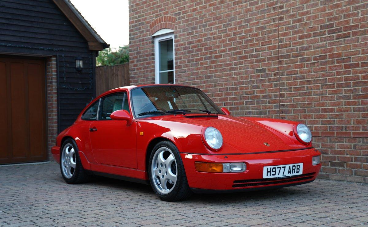 1990 DEPOSIT TAKEN 964 Carrera 4 manual DEPOSIT TAKEN For Sale (picture 1 of 6)