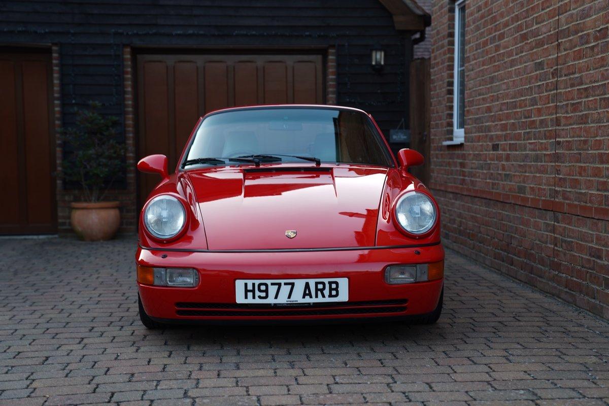 1990 DEPOSIT TAKEN 964 Carrera 4 manual DEPOSIT TAKEN For Sale (picture 3 of 6)