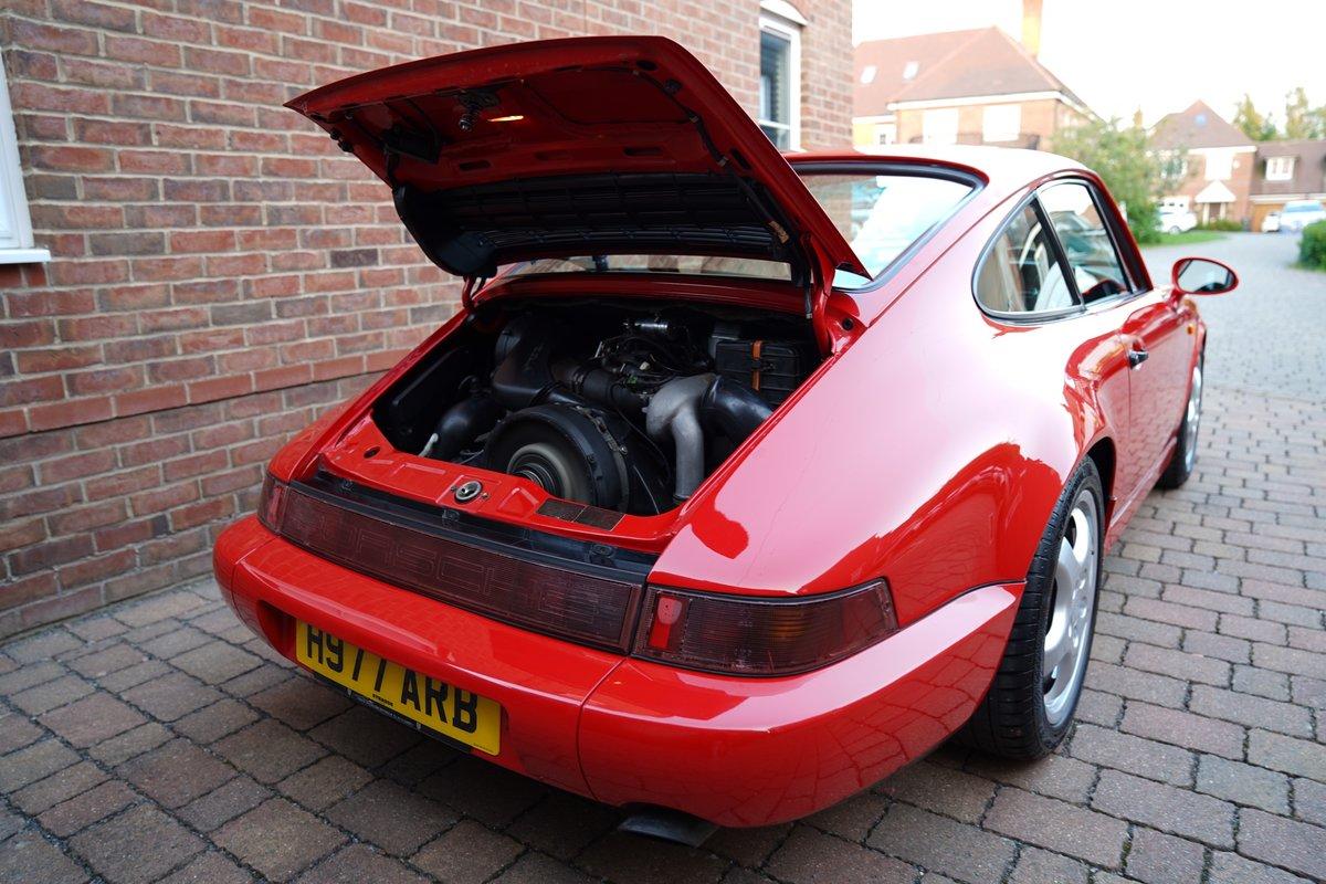 1990 DEPOSIT TAKEN 964 Carrera 4 manual DEPOSIT TAKEN For Sale (picture 5 of 6)