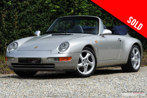 Picture of 1997 Porsche 993 Carrera 2 Tiptronic S cabriolet SOLD