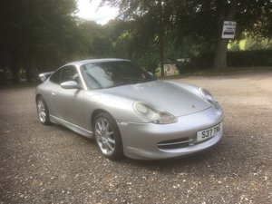 Picture of 1999 996 Carrera 4 with factory GT3 body kit and alloys