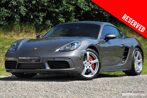 2016 (2017 MY) RESERVED - Porsche 718 Cayman S manual