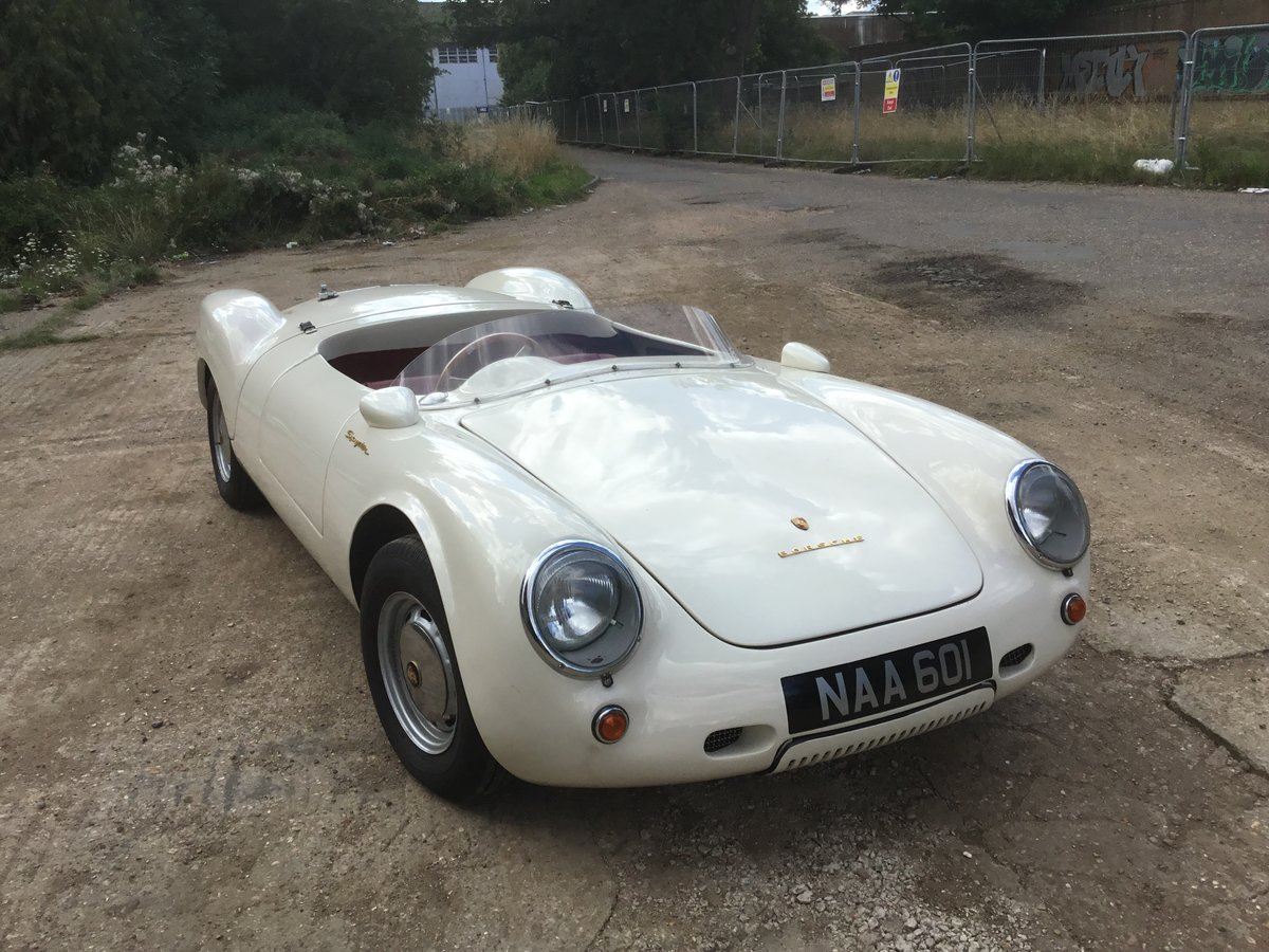 1956 Porsche 550 spider  For Sale (picture 2 of 6)