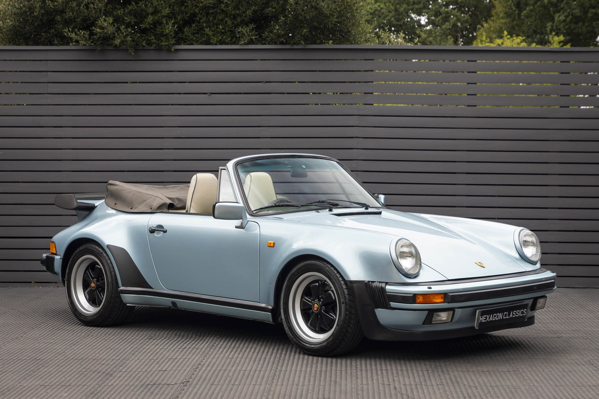 1988 Porsche 911 (930) TURBO 3.3 CABRIOLET ONLY 27K For Sale (picture 1 of 6)