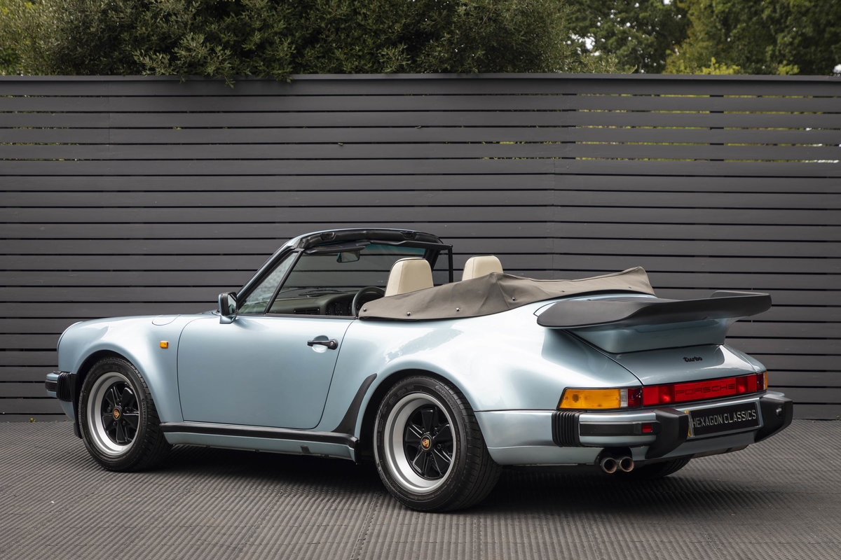 1988 Porsche 911 (930) TURBO 3.3 CABRIOLET ONLY 27K For Sale (picture 2 of 6)
