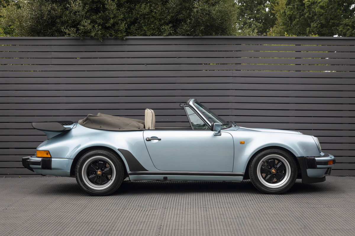 1988 Porsche 911 (930) TURBO 3.3 CABRIOLET ONLY 27K For Sale (picture 3 of 6)