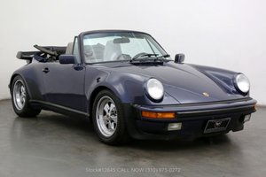 Picture of 1987 Porsche Carrera M491 Turbo Look Cabriolet For Sale