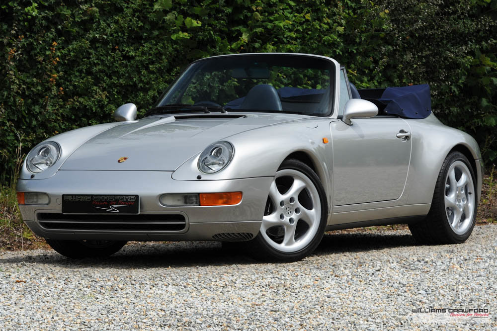 1997 Immaculate Porsche 993 (911) Carrera 2 Tiptronic S cabriolet For Sale (picture 1 of 6)
