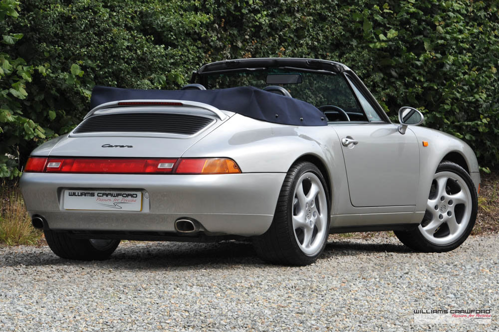 1997 Immaculate Porsche 993 (911) Carrera 2 Tiptronic S cabriolet For Sale (picture 2 of 6)