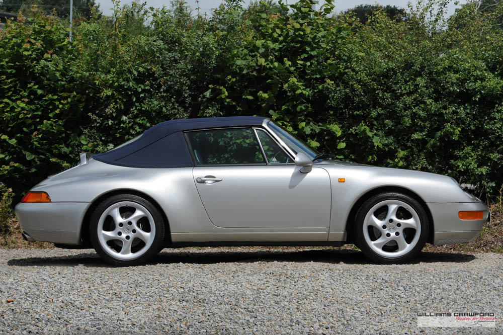 1997 Immaculate Porsche 993 (911) Carrera 2 Tiptronic S cabriolet For Sale (picture 3 of 6)