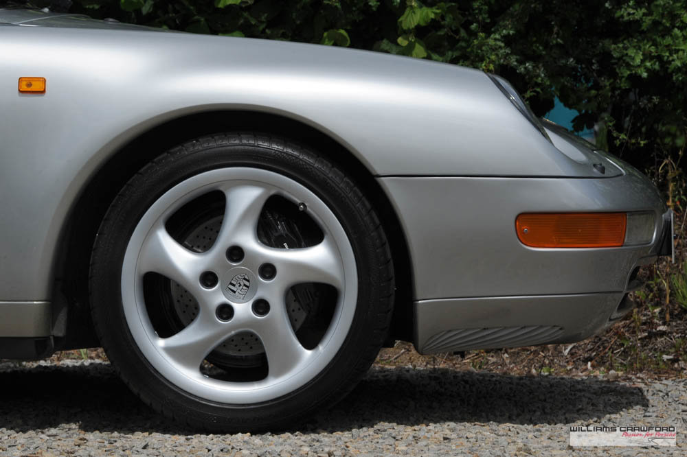 1997 Immaculate Porsche 993 (911) Carrera 2 Tiptronic S cabriolet For Sale (picture 4 of 6)
