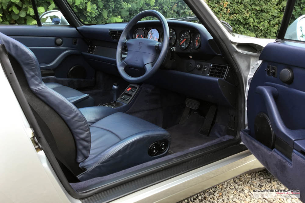 1997 Immaculate Porsche 993 (911) Carrera 2 Tiptronic S cabriolet For Sale (picture 5 of 6)
