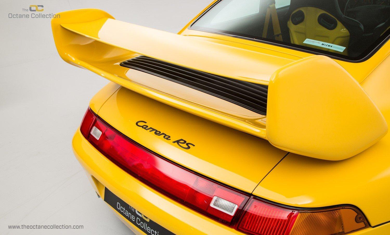 1995 PORSCHE 993 CARRERA RS // COLLECTOR GRADE // ORIGINAL PAINT  For Sale (picture 11 of 23)