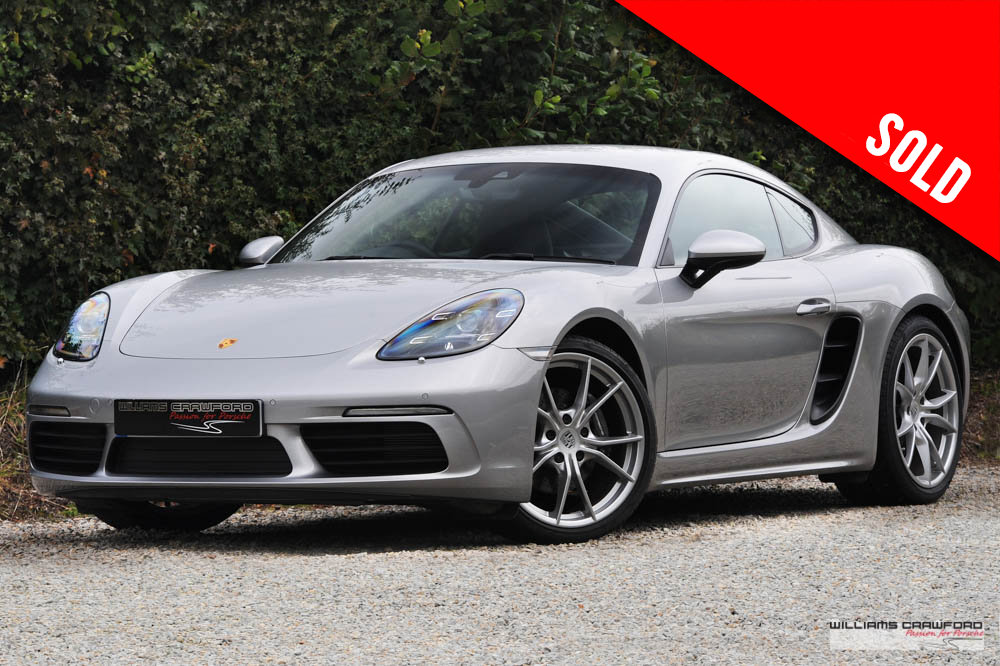 2019 Low mileage Porsche 718 Cayman PDK SOLD (picture 1 of 6)