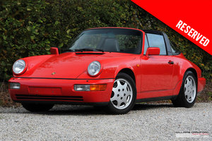 Picture of 1991 RESERVED - Porsche 964 (911) Carrera 2 Tiptronic S Targa