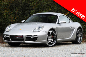 RESERVED - Porsche 987 Cayman S manual (with Sports exhaust)