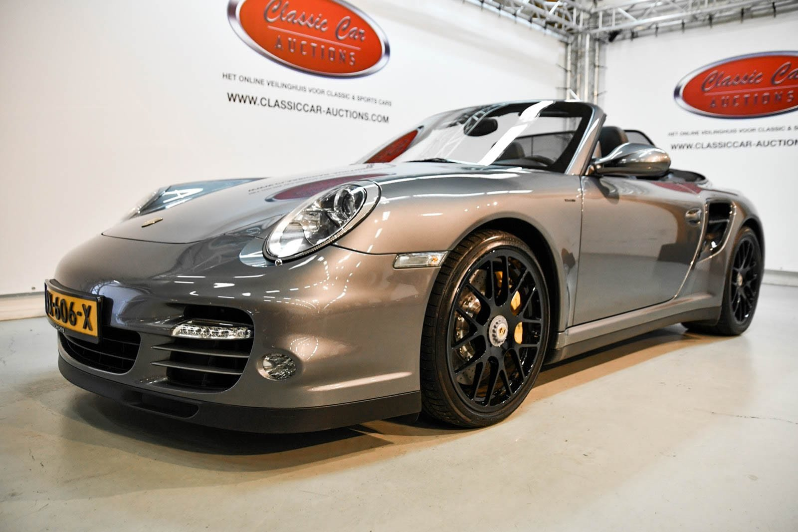 Porsche 911 type 997 2 turbo 2010 For Sale by Auction (picture 1 of 6)